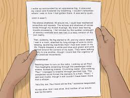 writing a composition paper 4 easy ways to write a personal narrative with pictures