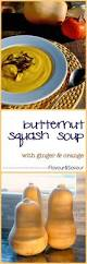 butternut squash soup with ginger and orange flavour and savour