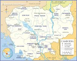 Map Of China Provinces Administrative Map Of Cambodia Nations Online Project
