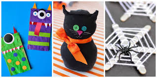 halloween arts and crafts ideas 21 easy halloween crafts for kids best halloween craft ideas for
