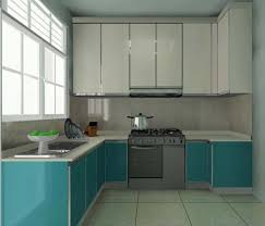 decorating mid continent cabinetry with blue kitchen cabinets and
