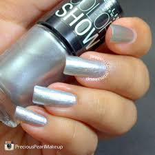 preciouspearlmakeup maybelline color show silver linings