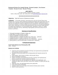 examples of server resumes waiter waitress cv example and template sample resume of waitress resume templates cocktail server work experience cocktail waitress sample resume waitress