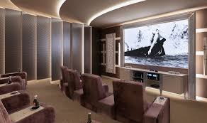 luxury home theater home theater room designed and produced by vismara design