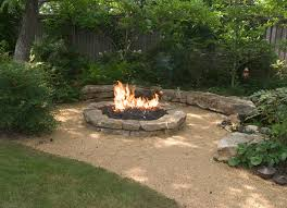 How To Make A Fire Pit In Backyard by Best 20 Rock Fire Pits Ideas On Pinterest Backyard Pool