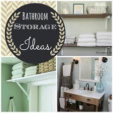 Diy Ideas For Bathroom by 28 Pinterest Small Bathroom Storage Ideas Bathroom