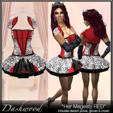 Red Queen Halloween Costume Marketplace Red Queen Hearts Costume Sale