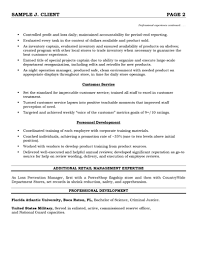 sample retail resumes resume example for retail Retail Management Resumes  retail manager resume examples  retail