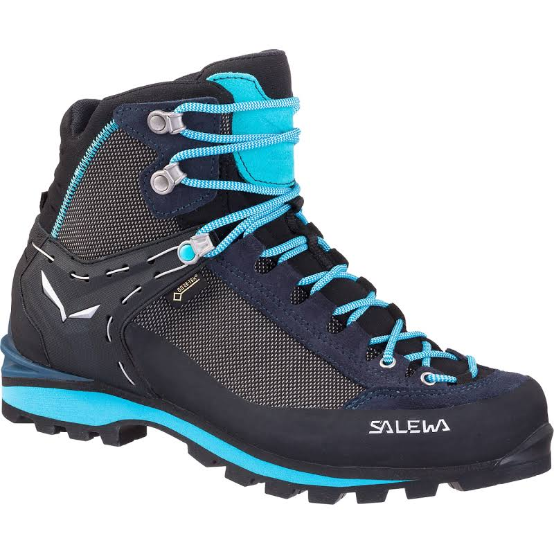 Salewa Crow GTX Mountaineering Boots Premium Navy/Ethernal Blue 7.5 US 00-0000061329-3985-7.5