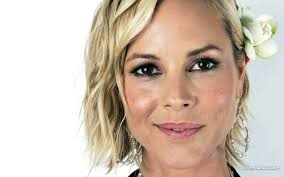 """maria-bello-037-07. """"We had an immediate connection but didn't think of it as romantic or sexual. She was one of the most beautiful, charming, brilliant and ... - maria-bello-037-07"""