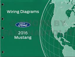 2016 ford mustang wiring diagram manual original