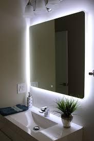 Bathroom Cabinet With Mirror And Light by Windbay Backlit Led Light Bathroom Vanity Sink Mirror Illuminated