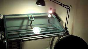 new desk setup studio designs glass top futura drafting table