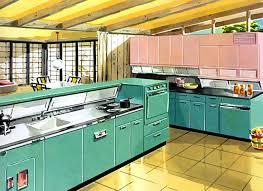 Retro Metal Kitchen Cabinets by Retro Steel Kitchen Cabinets Home Design Ideas
