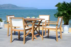 5 Pc Patio Dining Set - pat7041a patio sets 5 piece outdoor dining sets furniture by