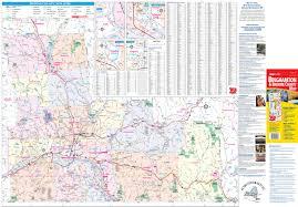 Ny County Map Binghamton Ny U0026 Broome County Map