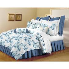 Home Trends Catalog by Home Dynamix Classic Trends White Light Blue 5 Piece Full Queen