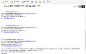 Example Of Email With Resume Attached by 20 Resume Sending Email Sample How To Name Your Resume And