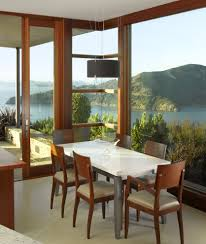 corner window design exterior modern with roof overhang french