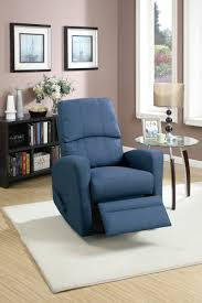 Swivel Recliner Chairs For Living Room F1532 Cat 17 P50 Swivel Recliner Fabric Navy
