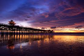 san clemente pier at sunset california usa my favorite places