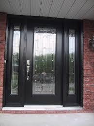 front doors inspirations contemporary black front door 14