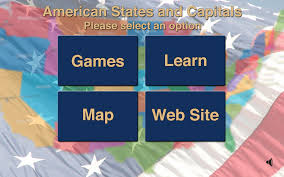 Usa States And Capitals Map by Amazon Com American States And Capitals Appstore For Android