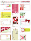 Living Life as Art: Free Printable Artist-made Gift Tags - over ...