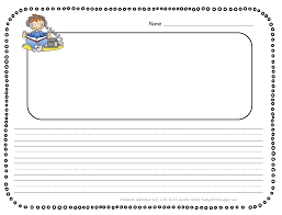nd Grade Writing Paper With Picture Box   choose your own writing     lbartman com