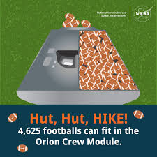 NASA Meets the Big Game  Five Things Space and Football Have in     NASA Hut  Hut  HIKE