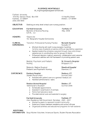 Registered Nurse Resume Cover Letter  letters of recommendation     Cover Letter Sample For ER Nurse and Nursing Student   Vntask com