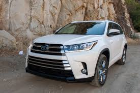 toyota ltd 2017 toyota highlander and highlander hybrid review first drive