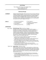 Online Marketing Manager Resume by Kitchen Manager Resume Berathen Com