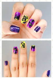 170 best halloween nails images on pinterest halloween nail art
