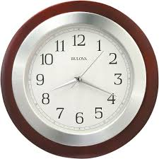 timekeeper products 11 1 2 in black wall clock with quartz