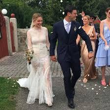 pernille teisbaek vera wang wedding dress popsugar fashion