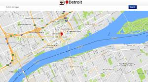 Detroit Michigan Map by Detroit Map Android Apps On Google Play