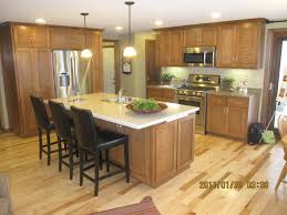 kitchen striking white kitchen island design using brown wooden