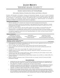 Resume Objective Examples For Customer Service  resume examples
