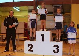 Les joueurs du tableau 1 (15 joueurs) et Yoann. Le Podium Tableau 2. Le Podium du tableau 2 (2001 - 2002 - 15 joueurs) et Antoine 1) Justine FERREIRA (2004 ... - GPD2_podium_Tab2