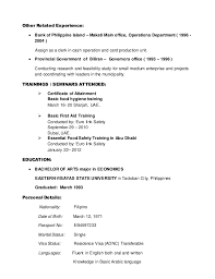 Phlebotomist Resume Sample No Experience by Renato New Cv Updated October2014