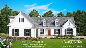 westfield house plan house plans by garrell associates inc