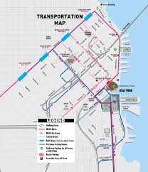 T Boston Map by Directions San Francisco Giants