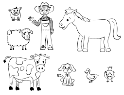 farm coloring pages getcoloringpages com