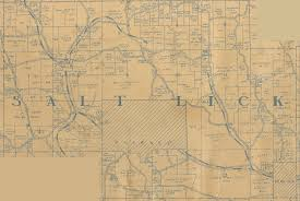 1935 plat map of perry county ohio salt lick twp