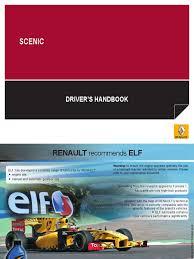 scenic iii airbag seat belt