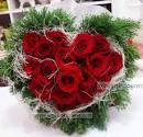 ช่อดอกไม้ รูปหัวใจ Love link bouquet