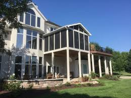 Screen Porch Roof by Porches Archadeck Of Kansas City