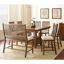 Counter Height Dining Room Tables by Steve Silver 8 Piece Kayan Counter Height Dining Table Set