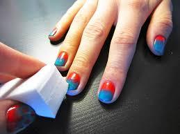 nail art diy polka dot gradient beauty blitz